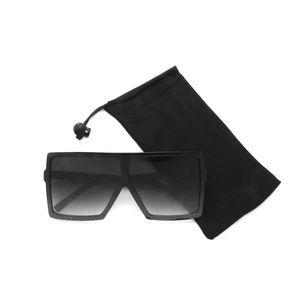103ff841f43 Oversized Square Flat Unisex Sunglasses P2453